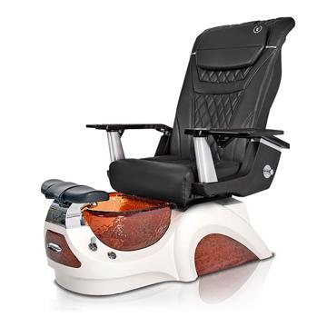 Noemi-AMBER Pedicure Chair   T-Timeless Massage Chair   Black Pad-Set