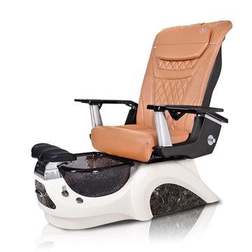 Noemi-BLACK Pedicure Chair | T-Timeless Massage Chair | Mocha Pad-Set