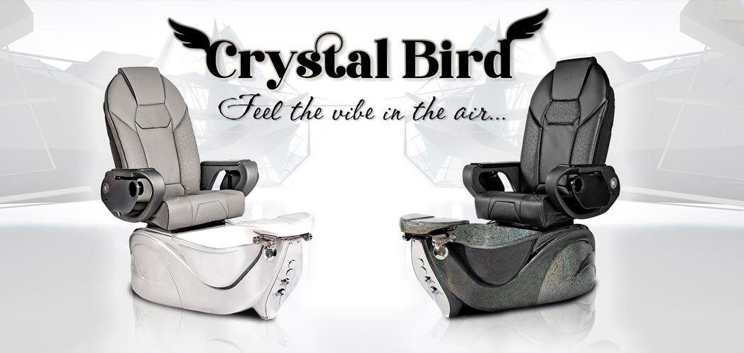 T-SPA Crystal Bird Pedicure Chair
